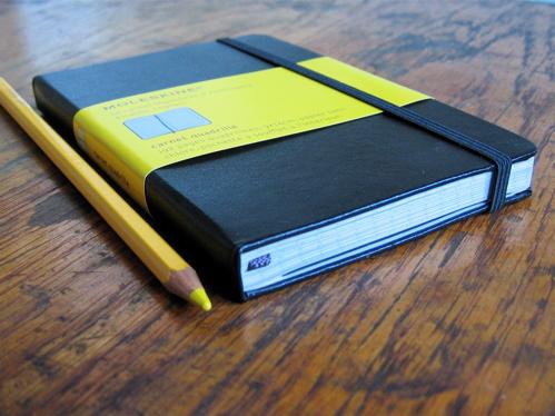 carnet de poche moleskine carreaux brocanteo la boutique brocante et deco. Black Bedroom Furniture Sets. Home Design Ideas