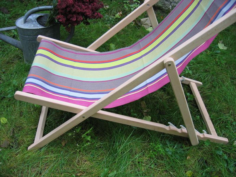 Chaise longue transat for Chaises longues transat